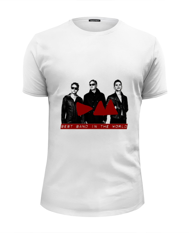 Футболка Wearcraft Premium Slim Fit Printio Depeche mode band