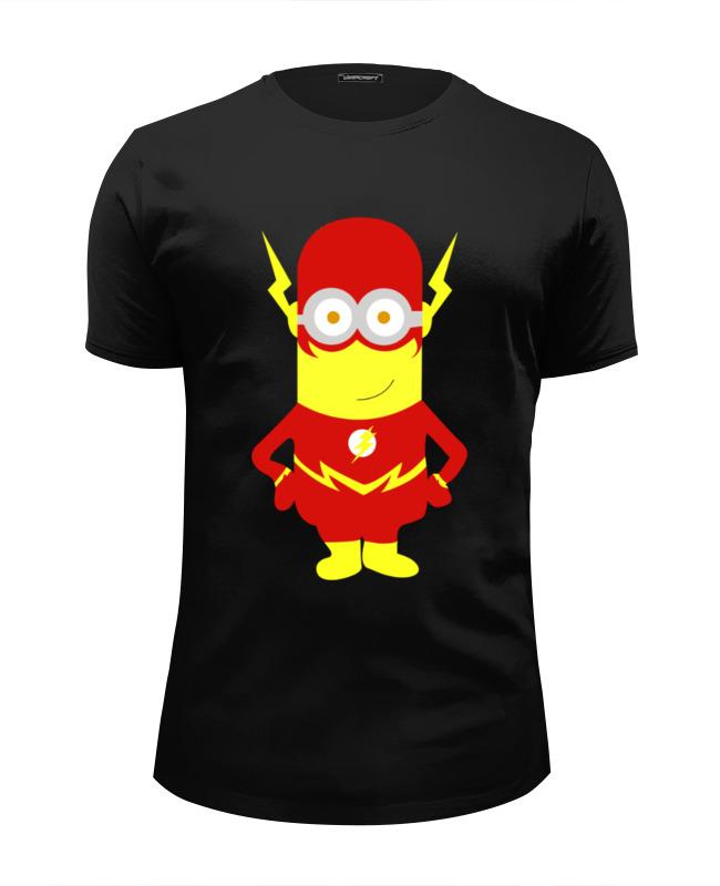 Футболка Wearcraft Premium Slim Fit Printio Миньон молния футболка wearcraft premium slim fit printio миньон