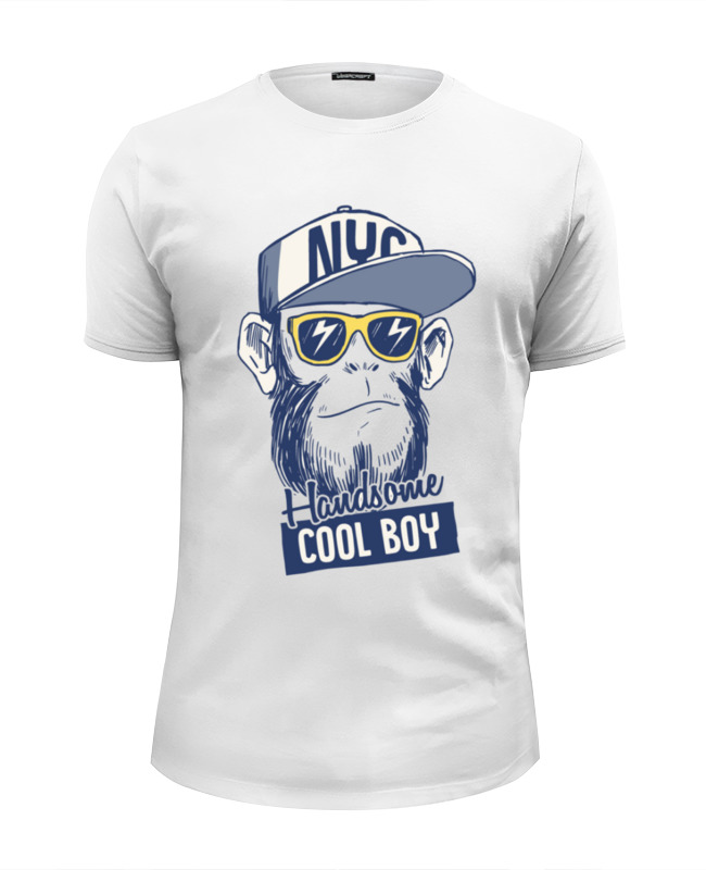 Printio Brooklyn monkey футболка wearcraft premium printio обезьяна monkey