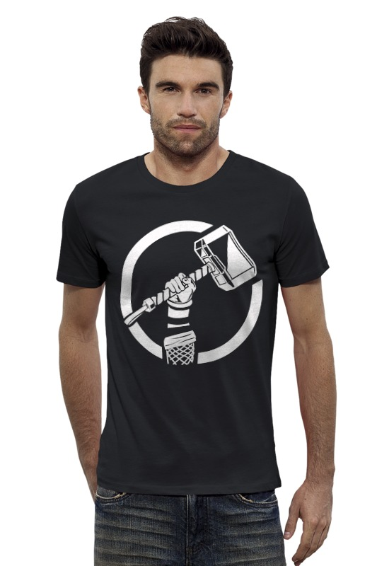 Футболка Wearcraft Premium Slim Fit Printio Тор (thor) футболка asics футболка layering top