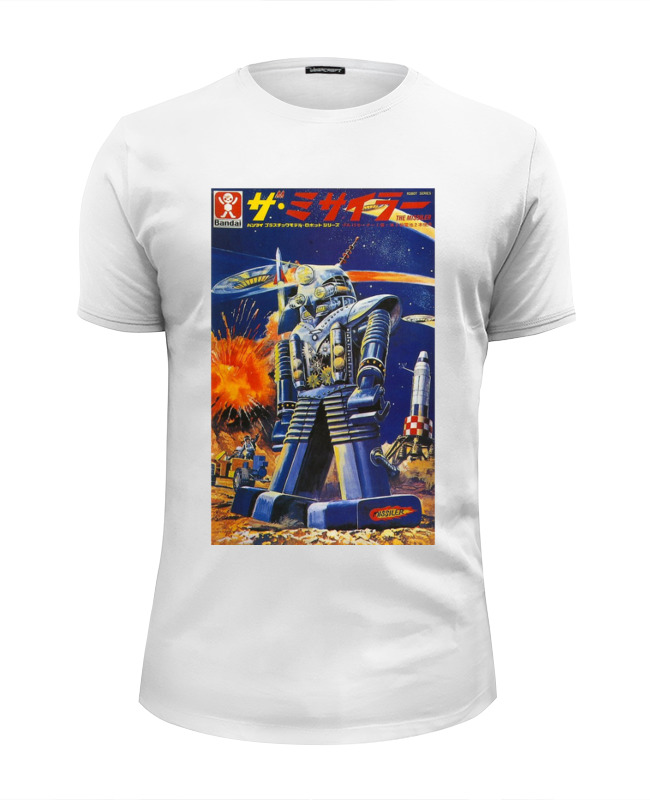 Футболка Wearcraft Premium Slim Fit Printio Bad robot trifari vintage колье 80 е