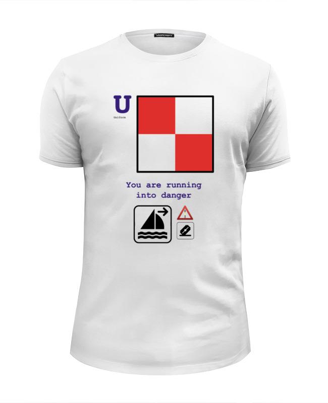 Футболка Wearcraft Premium Slim Fit Printio Uniform (u), флаг мсс (eng) for girl майка классическая printio uniform u флаг мсс eng for girl