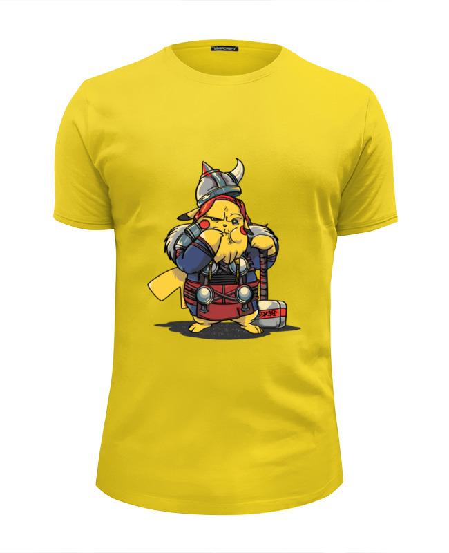 Футболка Wearcraft Premium Slim Fit Printio Покемон викинг футболка wearcraft premium slim fit printio викинг миньон