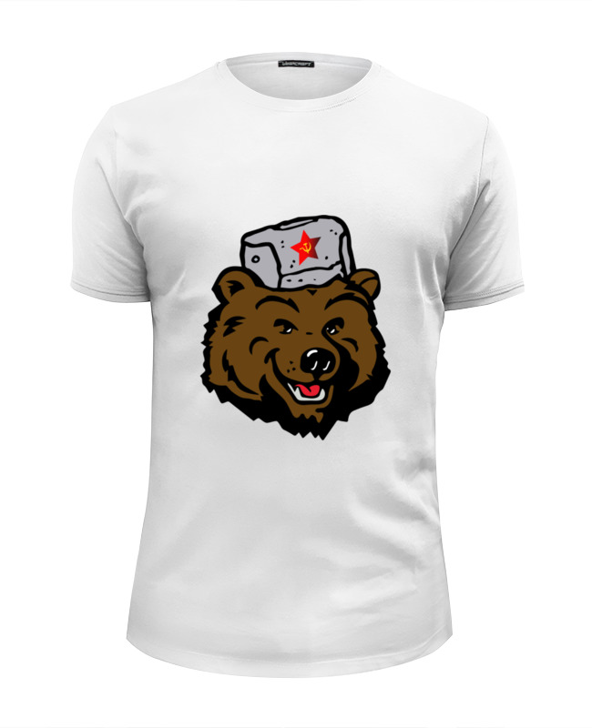 Printio Russian bear (русский медведь) футболка wearcraft premium slim fit printio я русский russian empire
