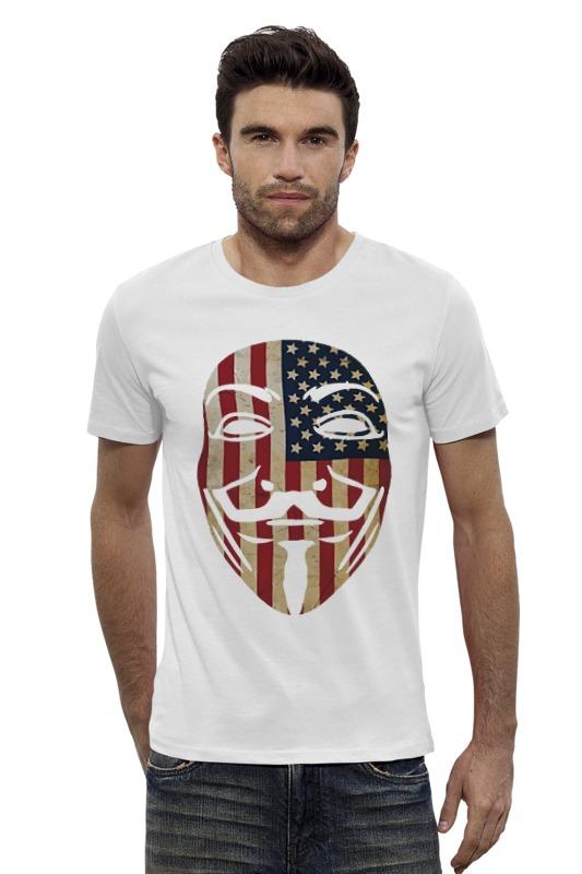 Футболка Wearcraft Premium Slim Fit Printio Usa anonymous футболка wearcraft premium slim fit printio fender usa
