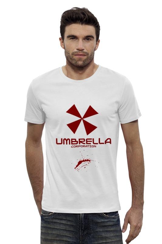 Футболка Wearcraft Premium Slim Fit Printio Resident evil: umbrella corporation