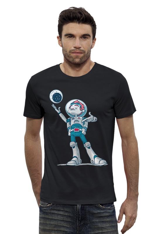 Футболка Wearcraft Premium Slim Fit Printio Astroboy / астронавт телескоп ioptron astroboy orange