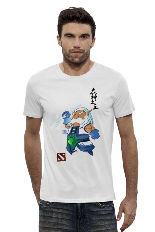 Футболка Wearcraft Premium Slim Fit Printio Dota 2 zeus футболка wearcraft premium slim fit printio saints row 2 blak