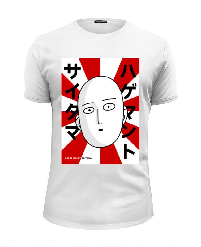 Футболка Wearcraft Premium Slim Fit Printio Ванпанчмен футболка wearcraft premium slim fit printio spider man