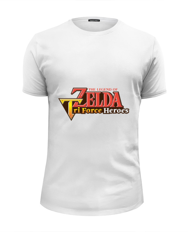 Футболка Wearcraft Premium Slim Fit Printio Legend of zelda triforce heroes