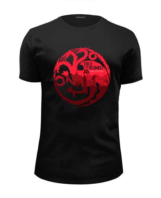 Футболка Wearcraft Premium Slim Fit Printio Игры престолов (game of thrones) футболка wearcraft premium slim fit printio game of thrones игра престолов
