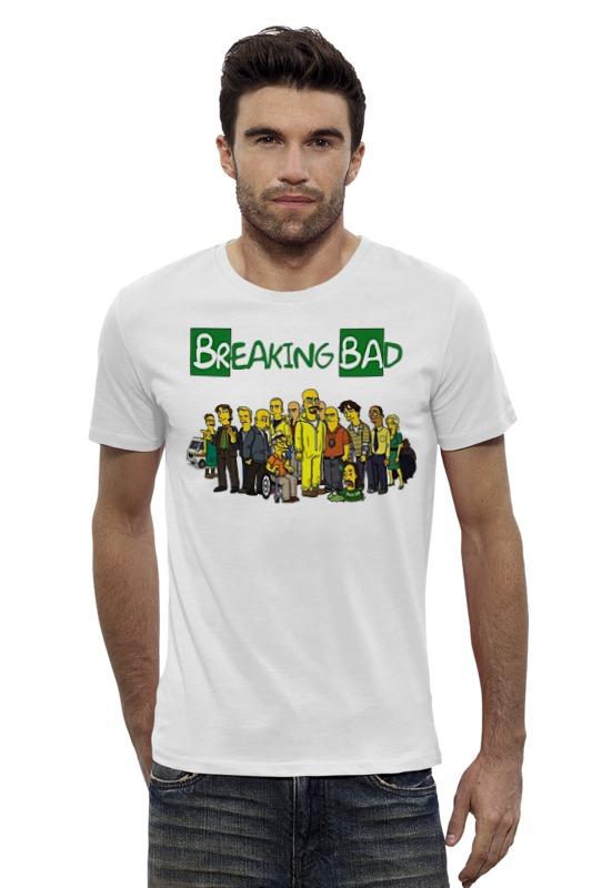 Футболка Wearcraft Premium Slim Fit Printio Breaking bad/во все тяжкие футболка wearcraft premium slim fit printio god of meth breaking bad