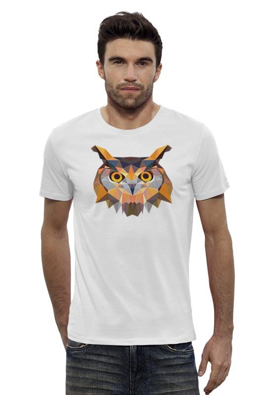 Футболка Wearcraft Premium Slim Fit Printio Полигональная сова футболка wearcraft premium slim fit printio ночная сова