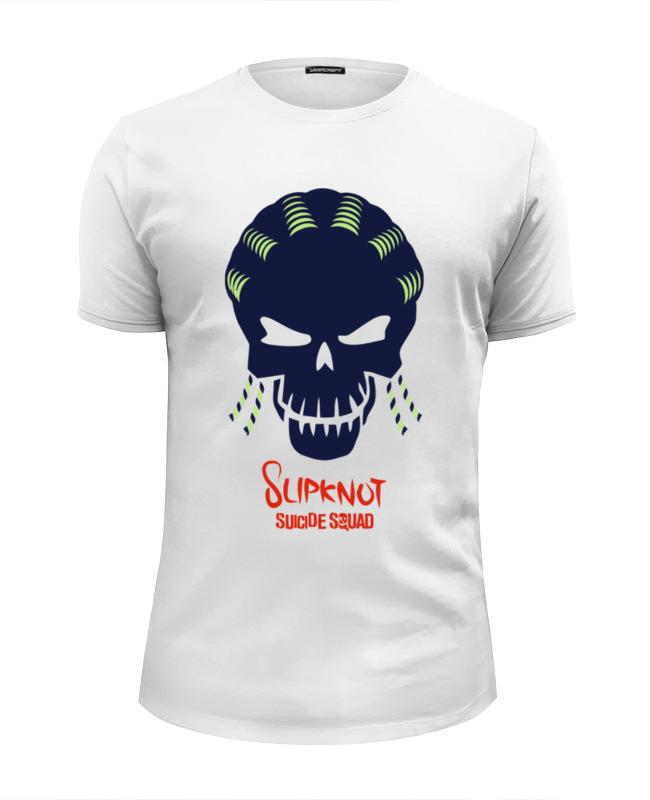 Футболка Wearcraft Premium Slim Fit Printio Слипкнот (отряд самоубийц) лонгслив printio слипкнот отряд самоубийц
