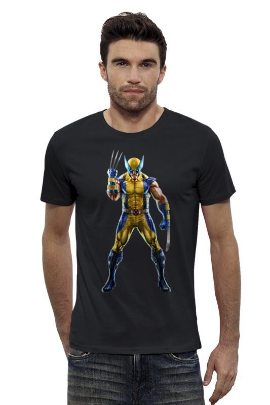 Футболка Wearcraft Premium Slim Fit Printio Wolverine / росомаха футболка wearcraft premium slim fit printio the wolverine росомаха