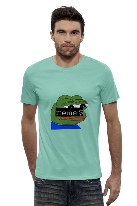 Футболка Wearcraft Premium Slim Fit Printio Pepe t-shirt back when we were grown ups