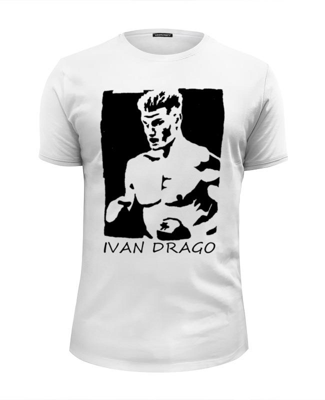 Футболка Wearcraft Premium Slim Fit Printio Ivan drago & rocky