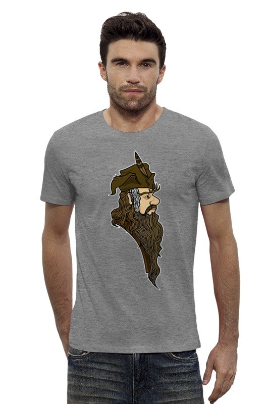 Футболка Wearcraft Premium Slim Fit Printio Радагаст карий (radagast the brown) футболка wearcraft premium printio хоббит the hobbit