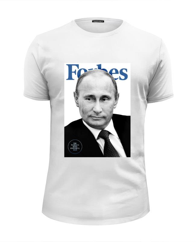 Футболка Wearcraft Premium Slim Fit Printio Putin forbes футболка wearcraft premium slim fit printio putin forbes