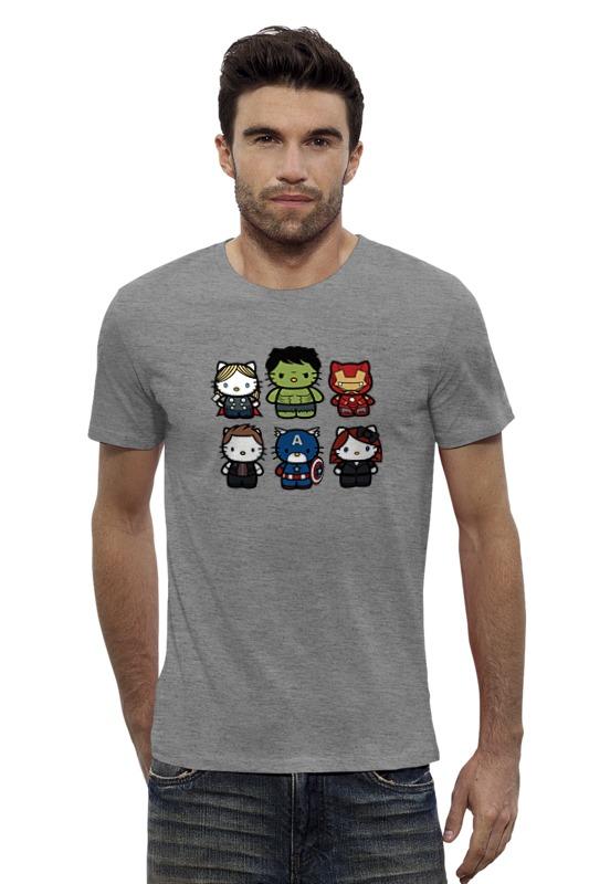 Футболка Wearcraft Premium Slim Fit Printio Hello kitty x avengers футболка wearcraft premium slim fit printio avengers