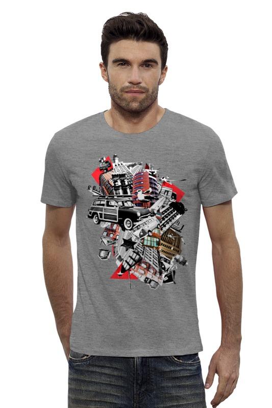 Футболка Wearcraft Premium Slim Fit Printio Город футболка wearcraft premium slim fit printio баймакс город героев