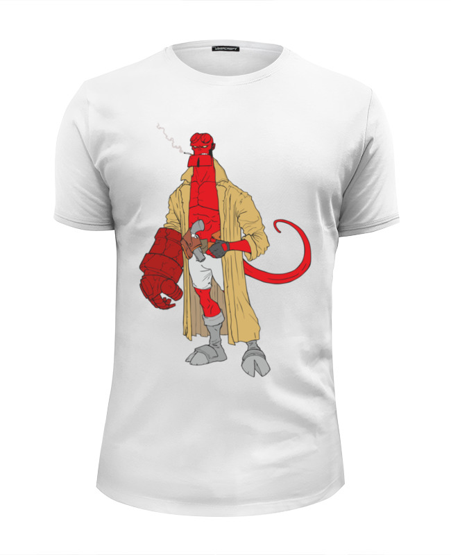 Printio Хеллбой (hellboy) футболка wearcraft premium slim fit printio dark horse comics