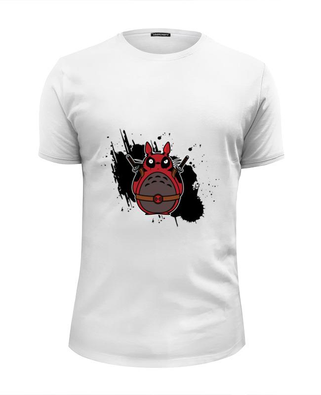 Футболка Wearcraft Premium Slim Fit Printio Тоторо дэдпул футболка wearcraft premium printio тоторо дэдпул