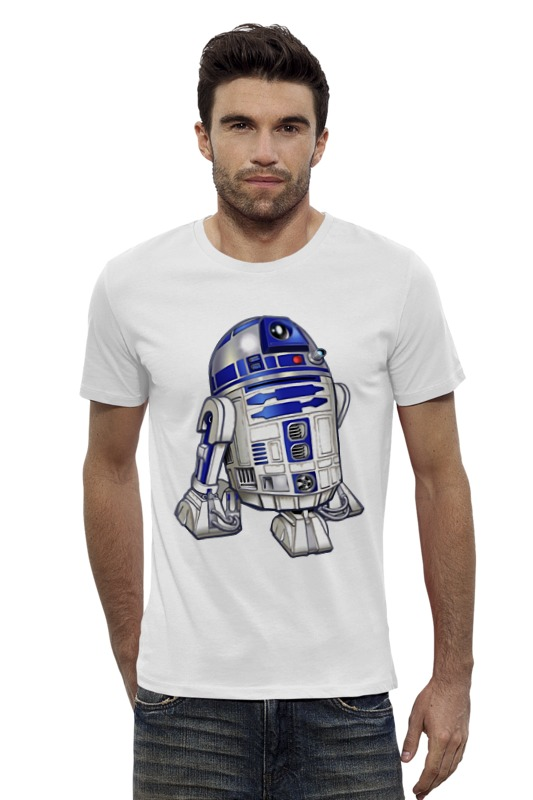 Футболка Wearcraft Premium Slim Fit Printio R2-d2 (star wars) футболка классическая printio r2 d2 star wars