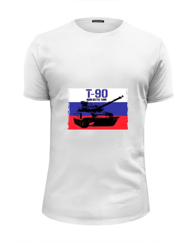 Футболка Wearcraft Premium Slim Fit Printio Танк т 90 детская футболка классическая унисекс printio танк т 90