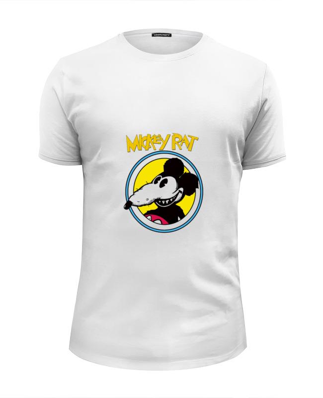 Футболка Wearcraft Premium Slim Fit Printio Mickey rat