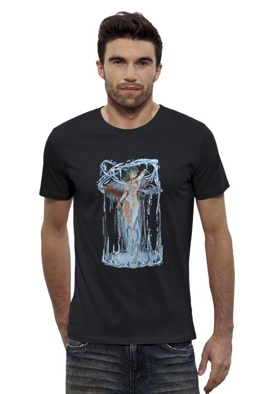 Футболка Wearcraft Premium Slim Fit Printio Мать моря футболка wearcraft premium printio мать земля