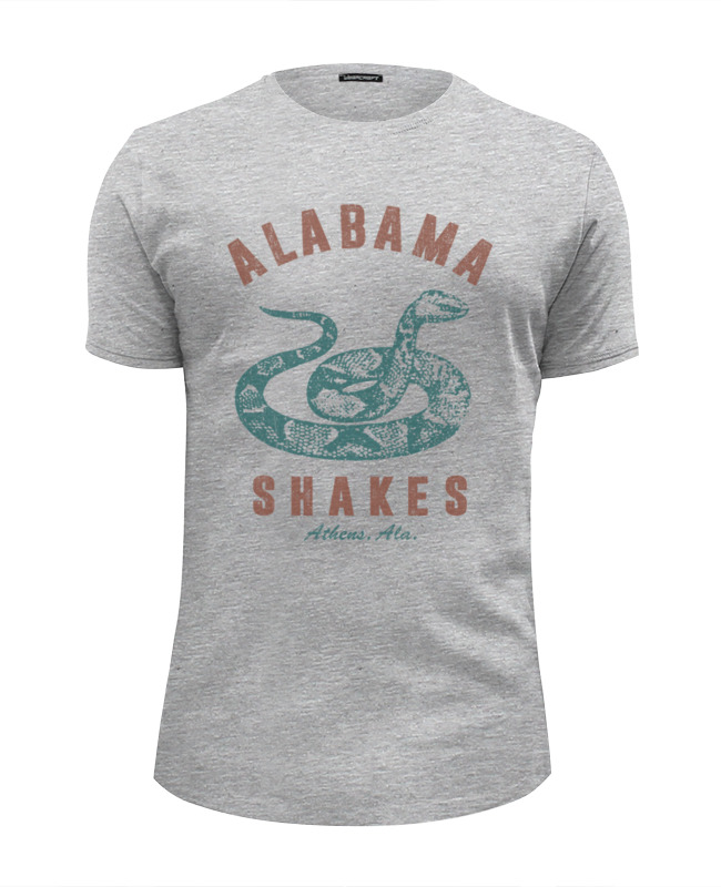 Футболка Wearcraft Premium Slim Fit Printio Alabama shakes