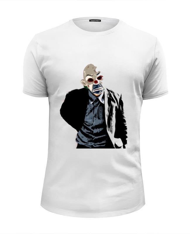 Футболка Wearcraft Premium Slim Fit Printio Joker in the mask футболка wearcraft premium slim fit printio the cat in the hat