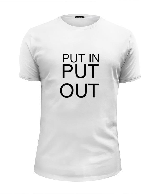 Футболка Wearcraft Premium Slim Fit Printio Putin putout футболка wearcraft premium slim fit printio putin