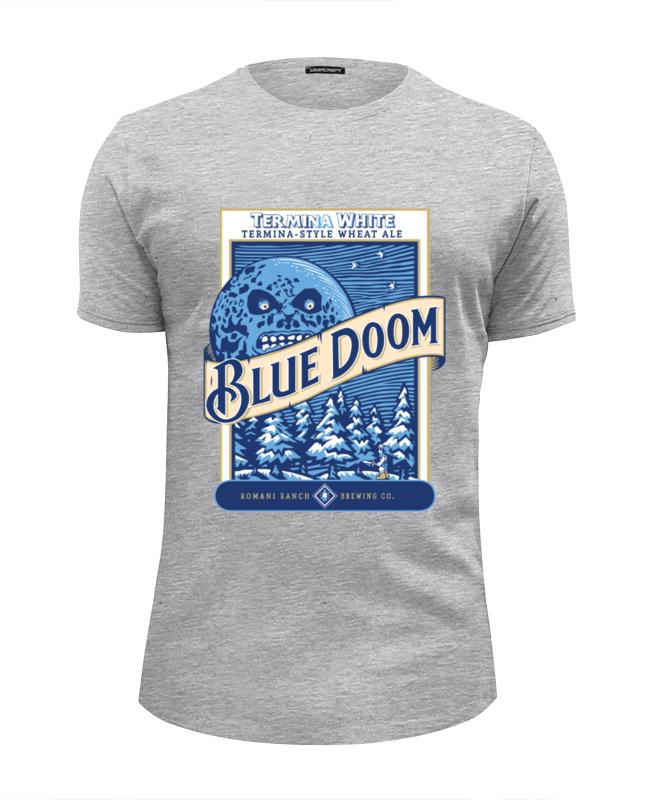 Фото - Футболка Wearcraft Premium Slim Fit Printio Blue doom (the legenda of zelda) the doom of the missionaries