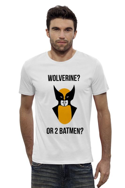 Футболка Wearcraft Premium Slim Fit Printio Wolverine or batmen футболка wearcraft premium slim fit printio the wolverine росомаха