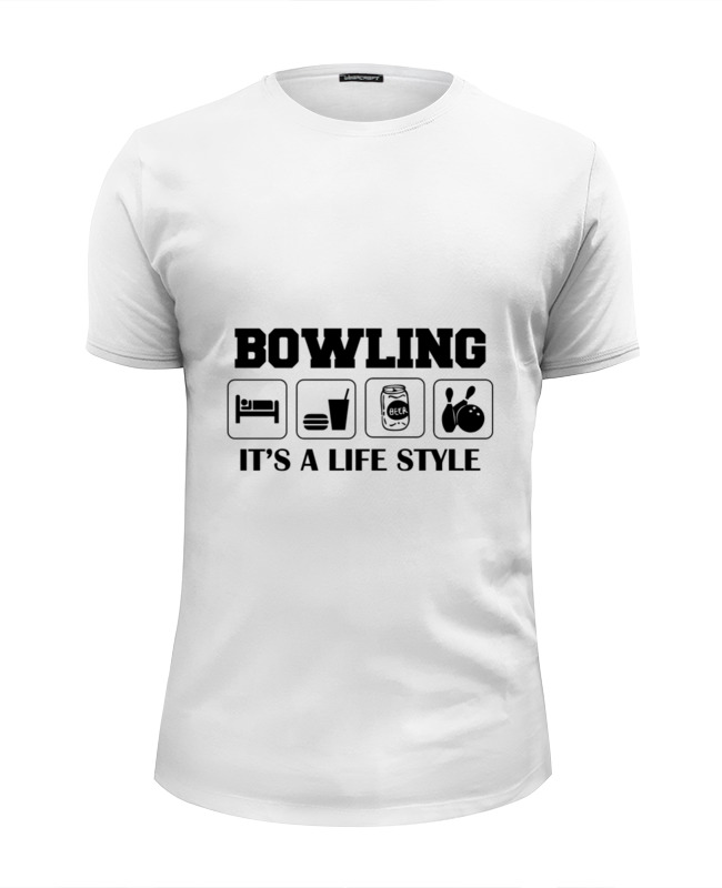 Футболка Wearcraft Premium Slim Fit Printio Боулинг футболка wearcraft premium slim fit printio боулинг bowling