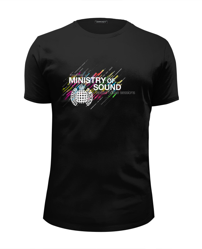 Футболка Wearcraft Premium Slim Fit Printio Ministry of sound