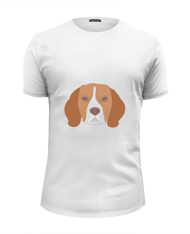 Футболка Wearcraft Premium Slim Fit Printio Пёс . футболка wearcraft premium slim fit printio helsingfors