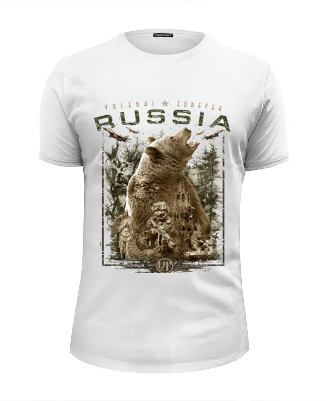 Printio Россия (в. 2) футболка wearcraft premium slim fit printio спецназ россии в 3