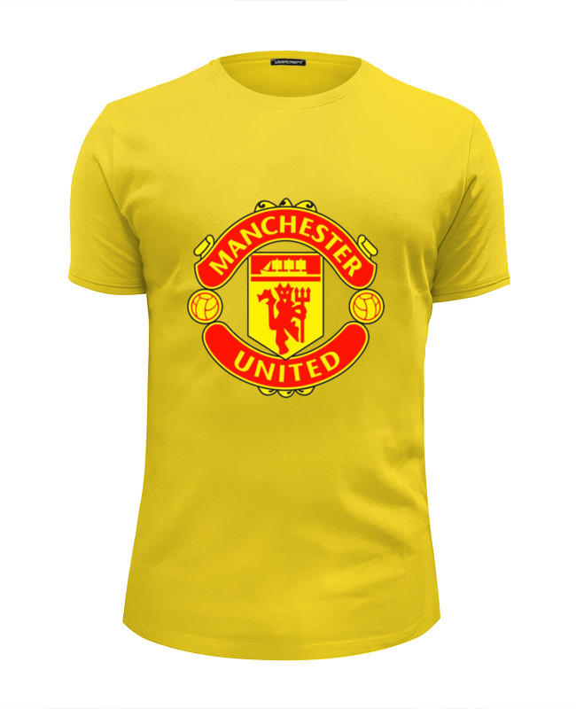 Футболка Wearcraft Premium Slim Fit Printio Manchester united