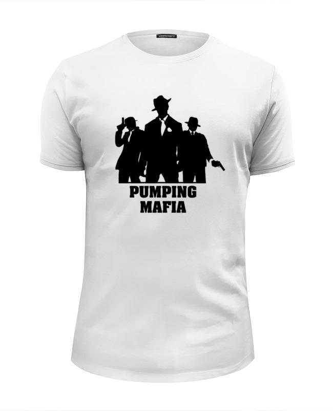 Футболка Wearcraft Premium Slim Fit Printio Pumping mafia #1 футболка wearcraft premium printio pumping mafia 1