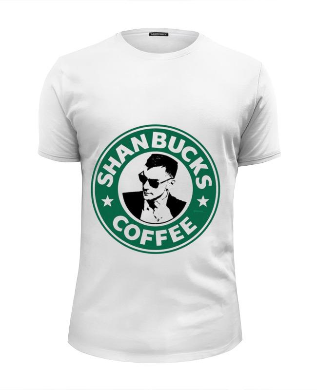 Футболка Wearcraft Premium Slim Fit Printio Shanbucks coffee