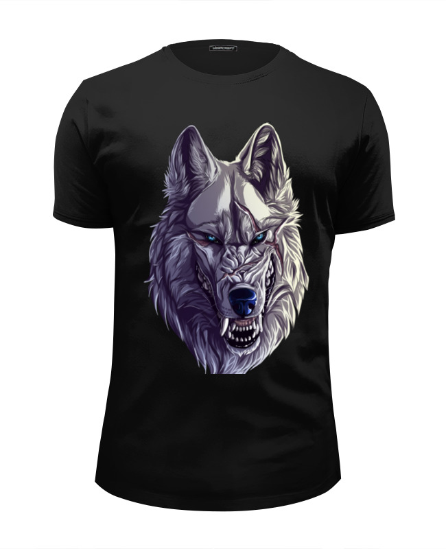 Футболка Wearcraft Premium Slim Fit Printio Werewolf футболка wearcraft premium slim fit printio на волне