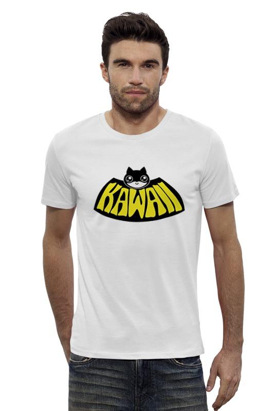 Футболка Wearcraft Premium Slim Fit Printio Batman kawaii футболка wearcraft premium slim fit printio batman beyond