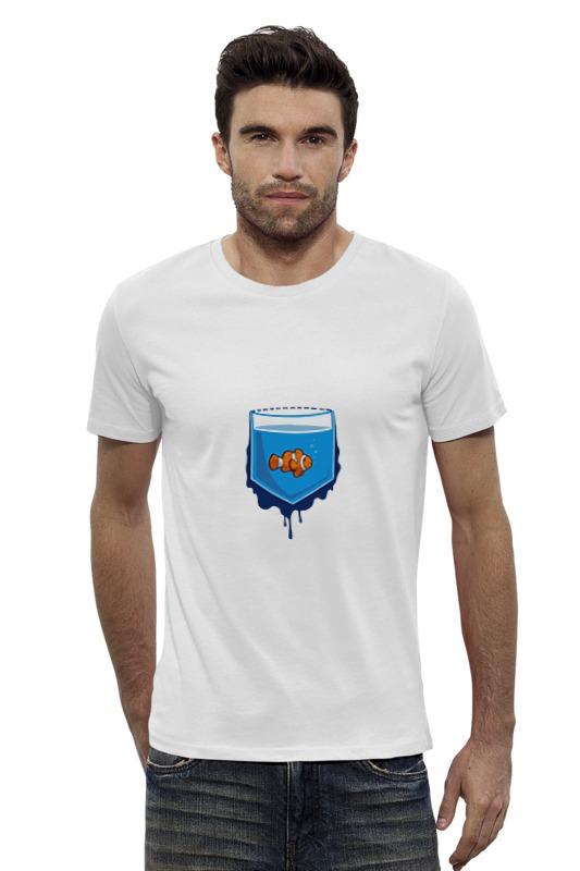 Футболка Wearcraft Premium Slim Fit Printio Рыбка в кормане футболка wearcraft premium printio рыбка