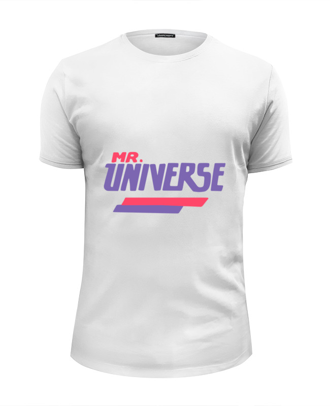 Printio Мистер вселенная футболка wearcraft premium slim fit printio вселенная