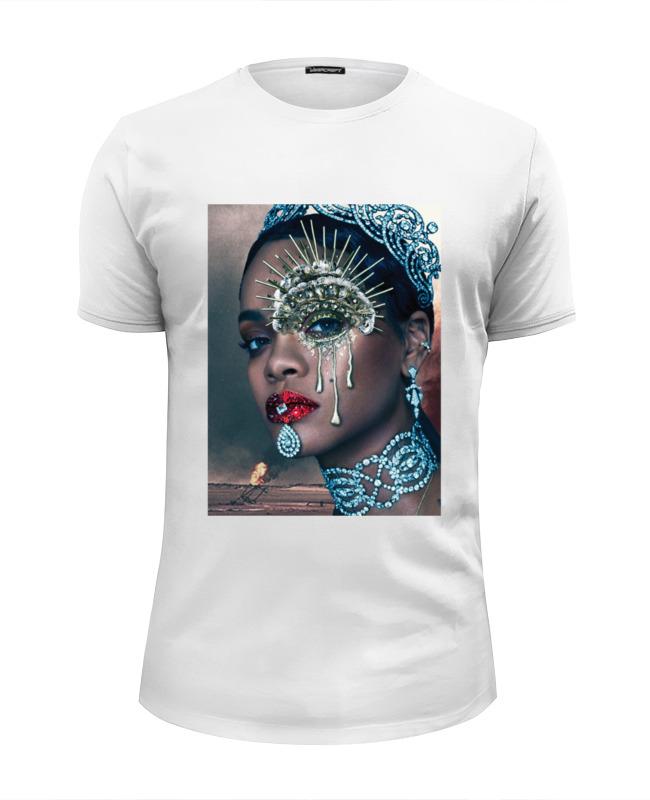 Футболка Wearcraft Premium Slim Fit Printio Rihanna футболка wearcraft premium slim fit printio рианна rihanna