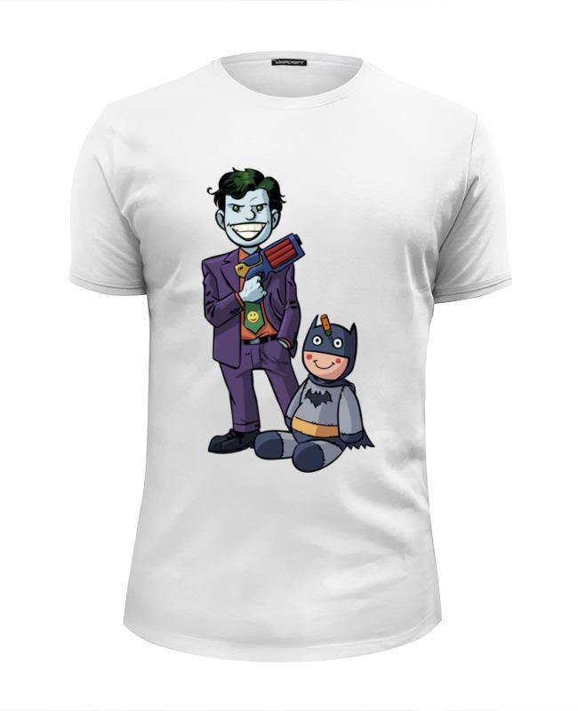 все цены на Футболка Wearcraft Premium Slim Fit Printio Джокер и бэтмен онлайн