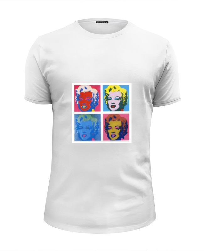 Футболка Wearcraft Premium Slim Fit Printio Мэрилин монро (marilyn monroe) футболка wearcraft premium slim fit printio pop art